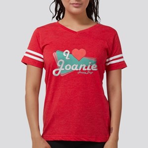 I Heart Joanie Womens Football Shirt